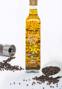 Cracked Black Pepper Wharfe Valley Rapeseed Oil