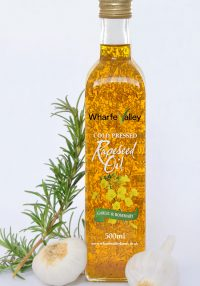 Garlic Rosemary Wharfe Valley Rapeseed Oil