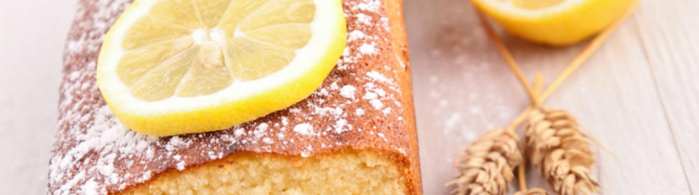 Lemon Cake Made With Yorkshire Rapeseed Oil