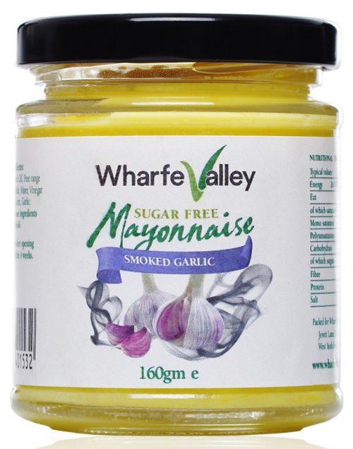 Smoked Garlic Wharfe Valley Rapeseed Mayo