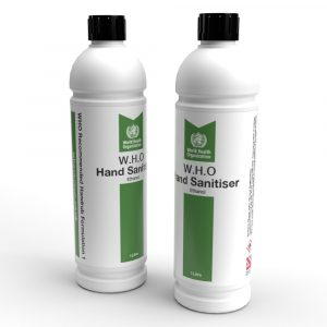 WHO Sanitiser Ethanol Based 1L