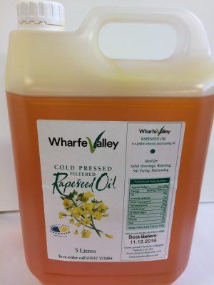 5 litre rapeseed oil